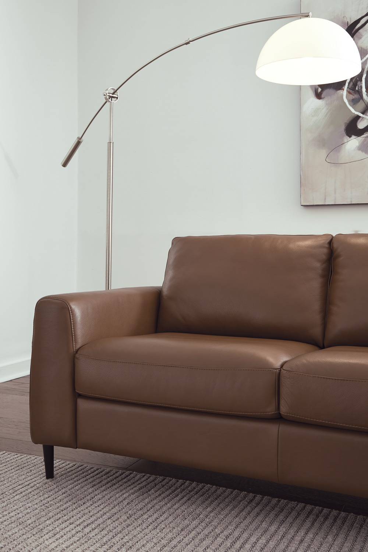 palliser atticus leather sectional  standard furniture